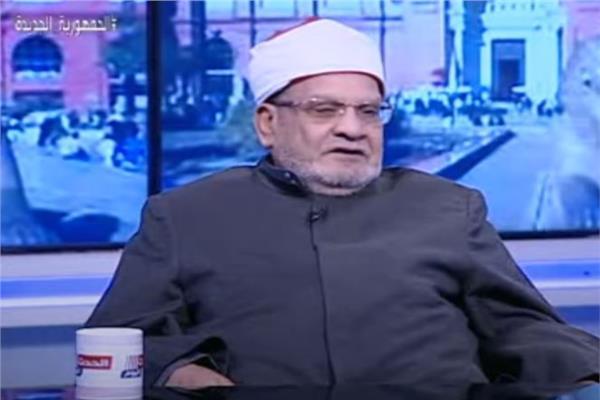 الدكتور أحمد كريمة، أستاذ الفقه المقارن بجامعة الأزهر