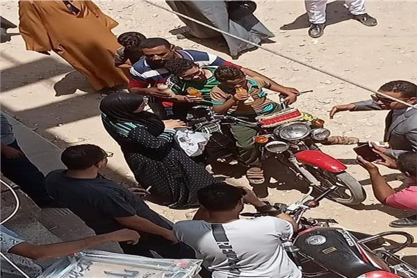 قرار جديد من قاض المعارضات ضد المتهمة بقتل أطفالها بسم كلاب في قنا