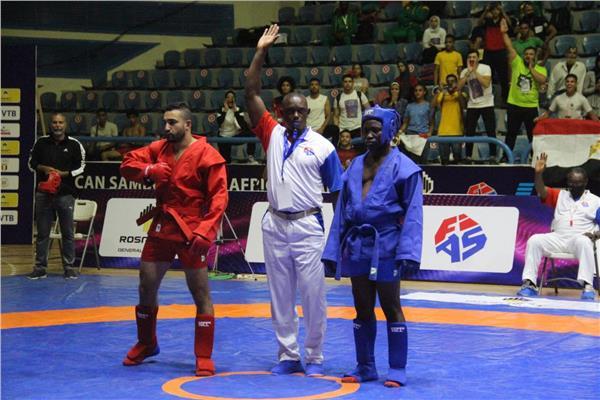 مصر تحصد 8 ميداليات متنوعة في البطولة الأفريقية للسامبو