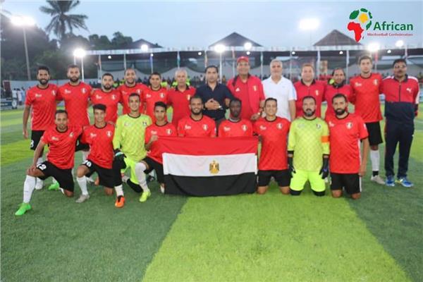 منتخب مصر للمني فوتبول