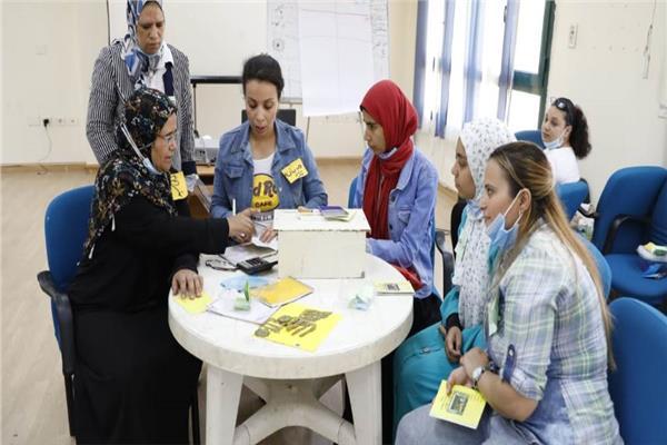 """""""القومى للمرأة"""" ينظم تدريب لإدارة مجموعات الادخار والإقراض بالمنيا"""