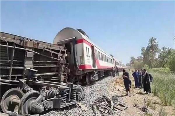 سائق قطار ركاب نجع حمادى وساعدة لم يتعاطيا مخدرات