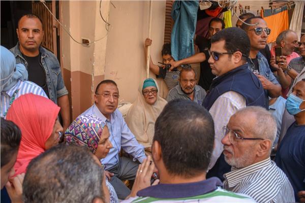محافظ الإسكندرية يتابع تطوير العصافرة قبلي بتكلفة ٢٤٤ مليون جنيه