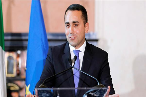 وزير الخارجية الإيطالي، لويجي دي مايو