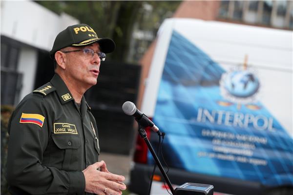قائد الشرطة الكولومبية خورخي لويس فارجاس