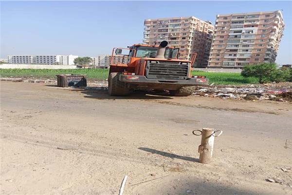 رفع 140 طن مخلفات وقمامة من قرى وأحياء المنيا