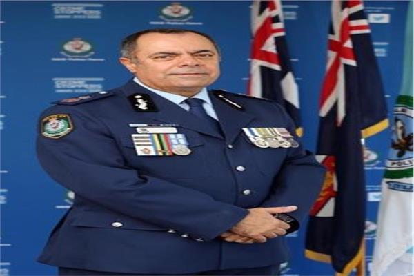 نجيب قلدس ذو الأصول المصرية منصب  نائب وزير داخلية الاسترالي