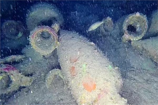 صورة العثور على حطام سفينة رومانية يعود تاريخها إلى 2200 سنة