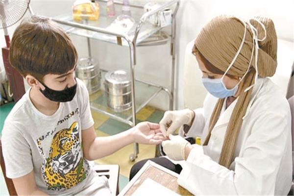 فحص 9.5 مليون طالب من فيروس سي