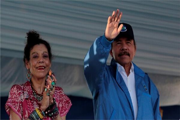 اورتيجا وزوجته روزاريو موريللو