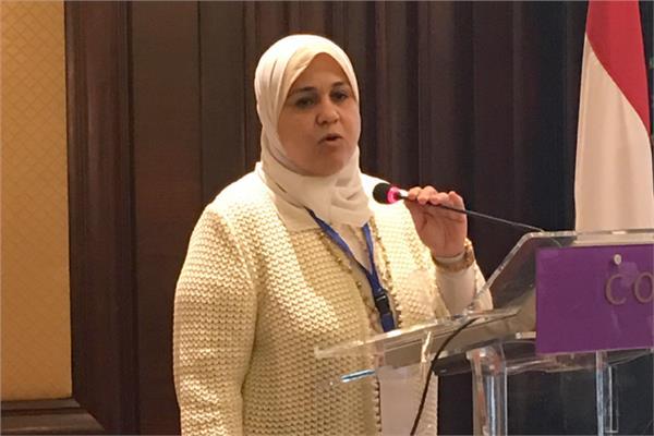 الدكتورة إيمان سيد رئيس قطاع التخطيط بوزارة الموارد المائية والري