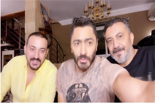 نصر محروس وتامر حسني