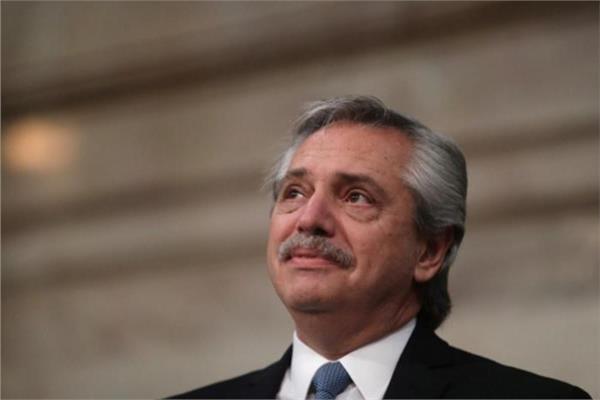 رئيس الأرجنتين البرتو فرنانديز