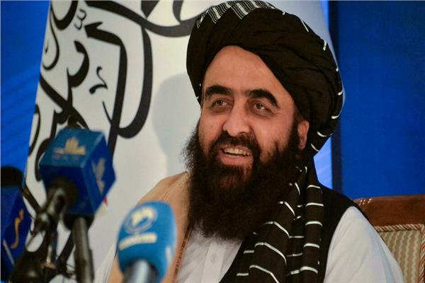 وزير الخارجية في الحكومة الافغانية الموقتة أمير خان