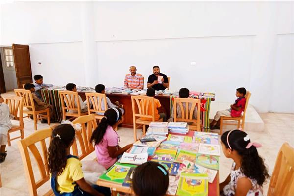 مشروع كتاب القرية بمدينة أبورديس بجنوب سيناء