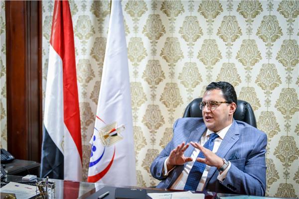 الدكتور خالد مجاهد، مساعد وزيرة الصحة