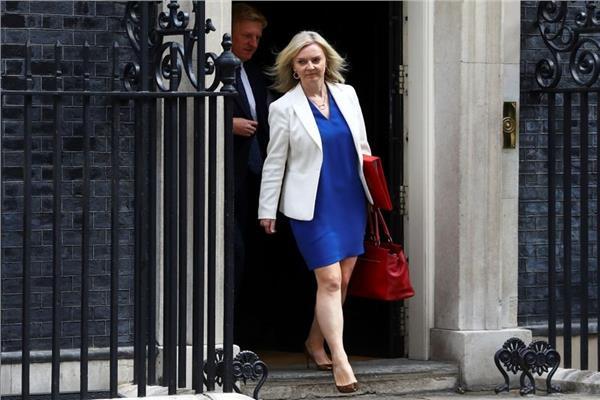 وزيرة الخارجية الانجليزية ليز تروس