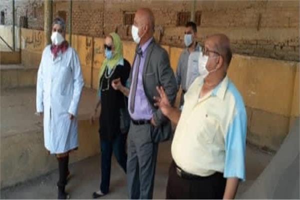 الدكتور عبد الناصر حميدة وكيل وزارة الصحة بالغربية