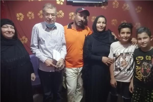 """أسرة بوسى سعد رمضان """" الشهيرة بأم محمد """" الحدادة"""