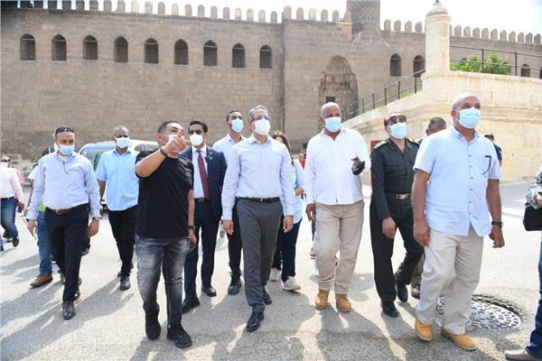 جولة وزير السياحة والآثار بقلعة صلاح