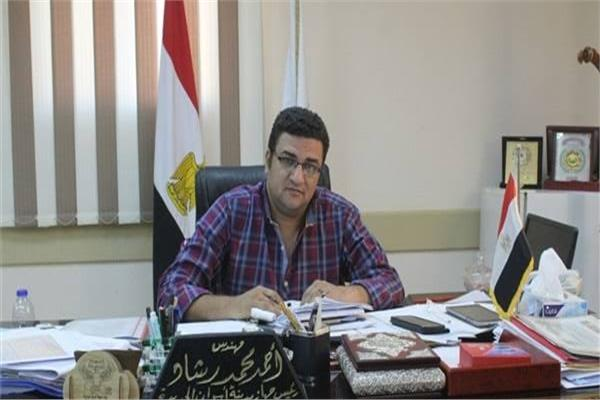 المهندس أحمد رشاد رىيس جهاز مدينة أسوان الجديدة