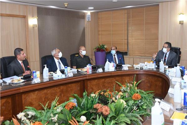 وزير السياحة والاثار يترأس إجتماع مجلس إدارة الهيئة العامة للتنمية السياحية