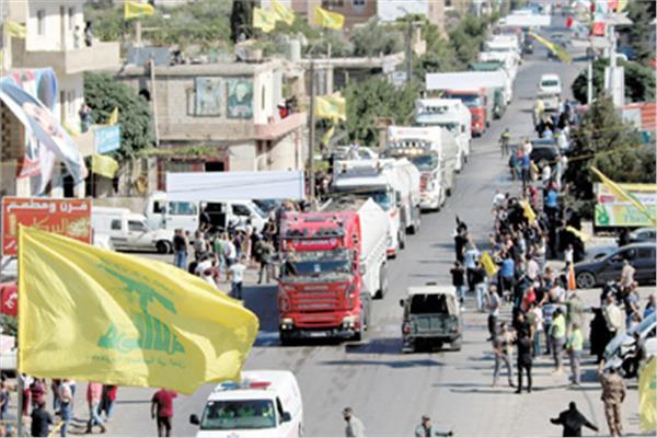 وصول ناقلات الوقود الإيراني إلى منطقة العين شرق لبنان