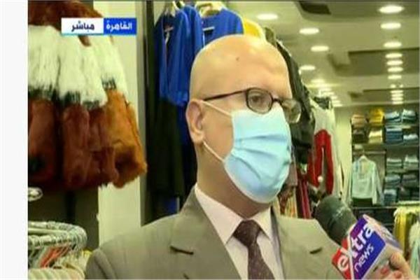 أحمد أبوالفضل مدير عام الرقابة التجارية بوزارة التموين والتجارة الداخلية