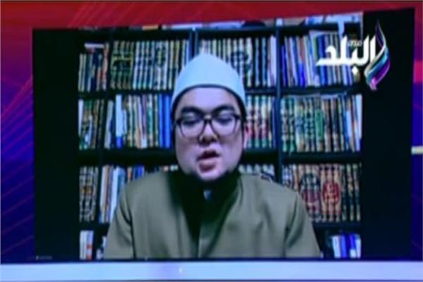الشيخ أيوب الياباني، الطالب في كلية الدراسات العلوم بجامعة الأزهر