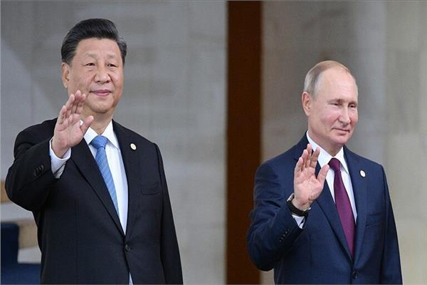 الرئيس الروسي و الرئيس الصيني