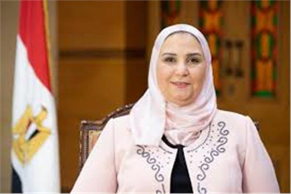 نيفين القباج- وزيرة التضامن