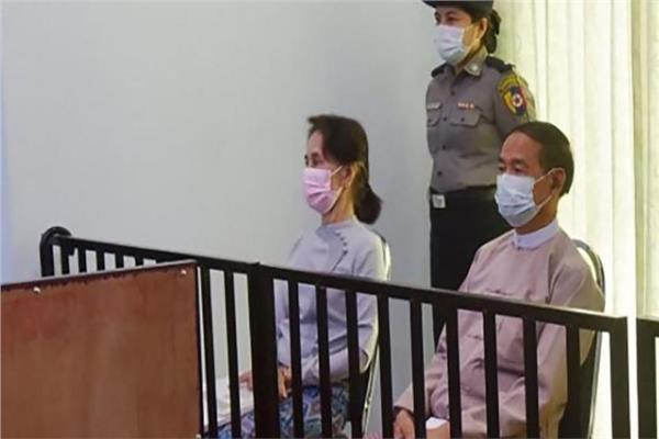 زعيمة بورما السابقة سو تشي