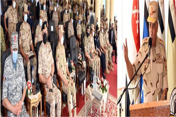 وزير الدفاع يشهد تنفيذ المرحلة الختامية لفاعليات التدريب المشترك «النجم الساطع 2021»