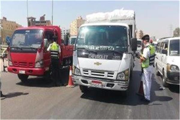 تعزيز الخدمات المروية بالطرق والمحاور الرئيسية بالقاهرة