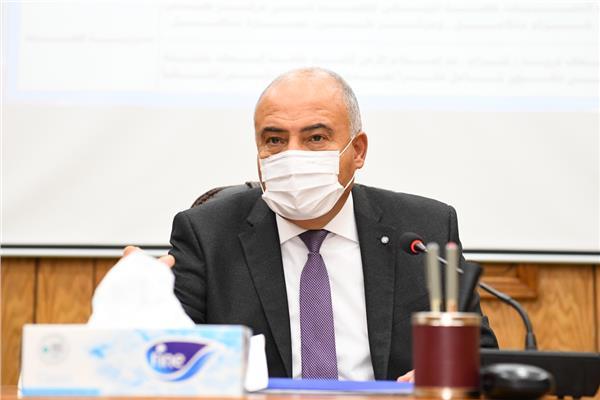 المهندس أشرف عبد الرازق وكيل وزارة الزراعة