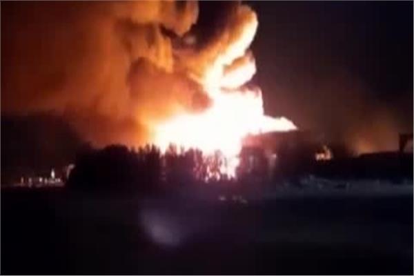 عاجل إندلاع حريق فى مصنع خشب بالمنطقة الصناعية بالغردقة