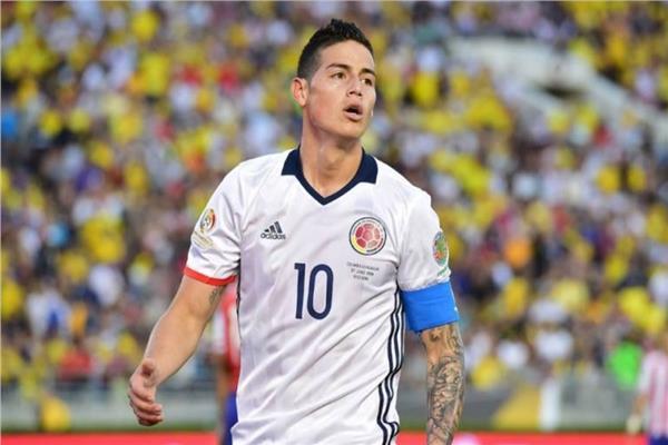 قائد منتخب كولمبيا «خاميس رودريجيز» يقترب من دوري عربي