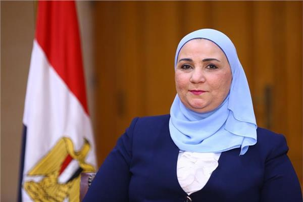 الدكتورة نيفين القباج وزيرة التضامن الإجتماعي