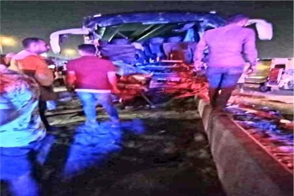حادث طريق القاهرة الإسكندرية الصحراوي