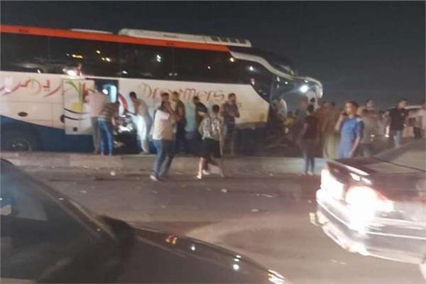 حادث تصادم طريق القاهرة الإسكندرية الصحراوي