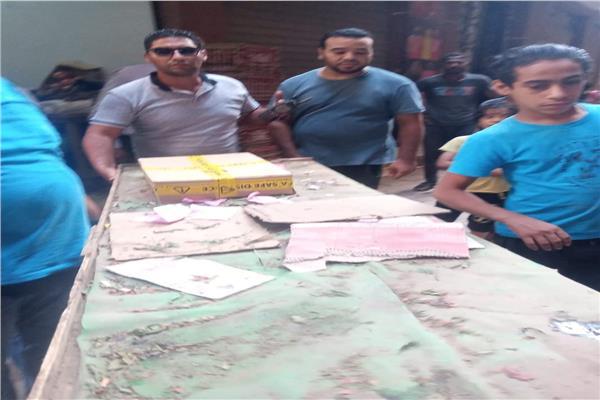 حملة إشغالات موسعة على شوارع بولاق الدكرور