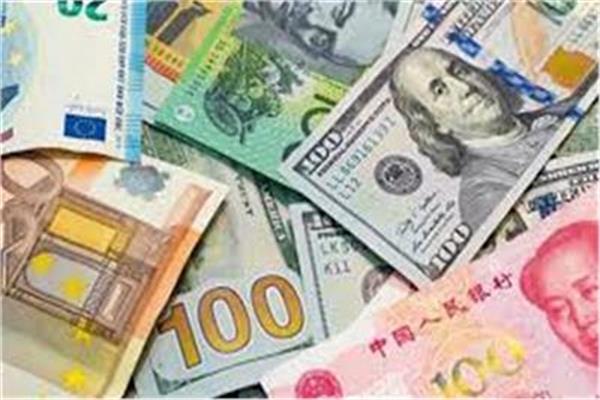 انخفاض أسعار العملات الأجنبية في منتصف تعاملات اليوم 23 سبتمبر