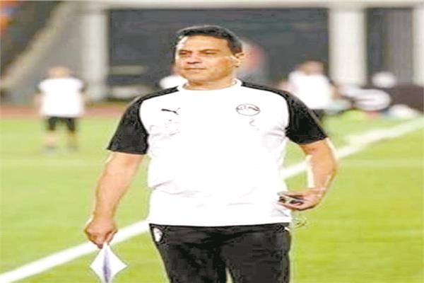 حسام البدرى المدير الفني. السابق لمنتخب مصر لكرة القدم