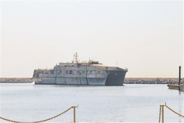 """السفينة الأمريكية """"يو إس إن إس تشاوتو"""" - «صورة من موقع الأسطول الخامس الأمريكي»"""