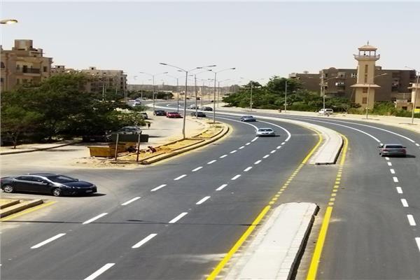 تطوير الطرق بمدينة6 اكتوبر
