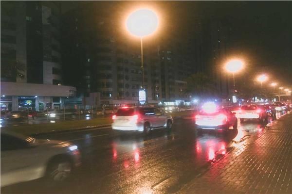 هطول أمطار خفيفة