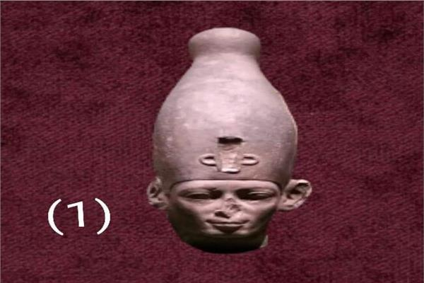 احدى مقتنيات متحف سوهاج  النادرة