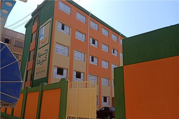 تسليم أول مدرسة ضمن مبادرة «حياة كريمة» بقرية دنجواي في الدقهلية