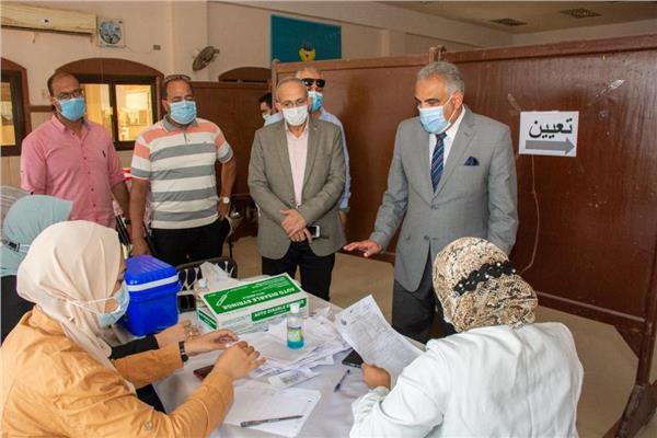 رئيس جامعة طنطا : انطلاق حملة تطعيم لقاح كورونا للطلاب الجدد