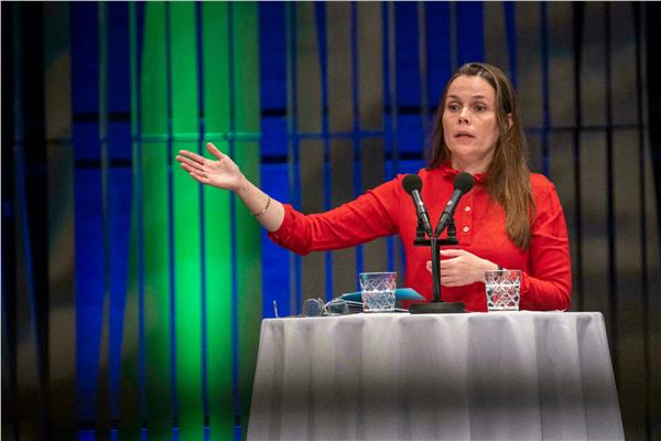 رئيسة وزراء أيسلندا